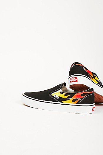 Flame Classic Slip-On Sneakers