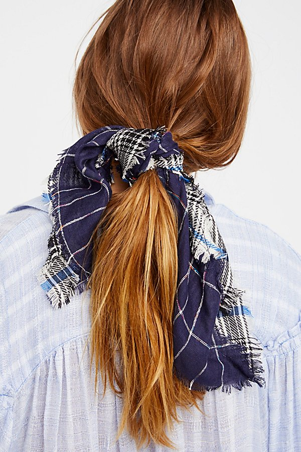 Slide View 1: Patchwork Plaid Bandana