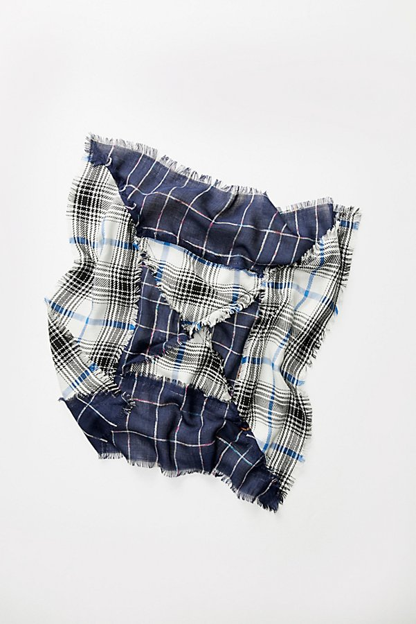 Slide View 4: Patchwork Plaid Bandana