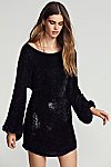 Thumbnail View 1: Moonglow Sequin Mini Dress