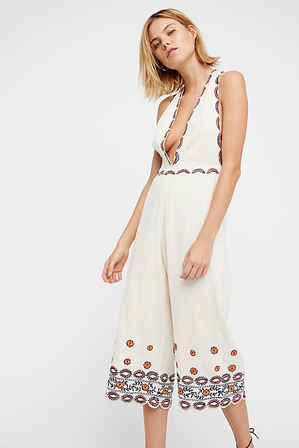Slide View 3: Some Girls Embroidered Jumpsuit
