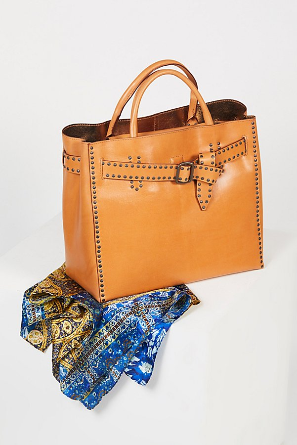 Slide View 1: Valeriana Studded Tote