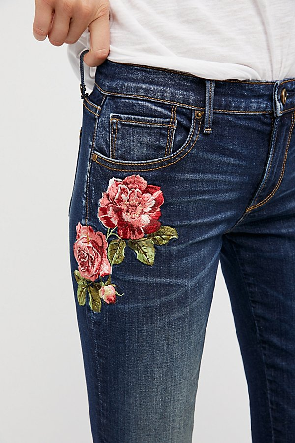 Slide View 1: Kelly Embroidered Baby Bootcut Jeans