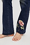 Thumbnail View 5: Kelly Embroidered Baby Bootcut Jeans