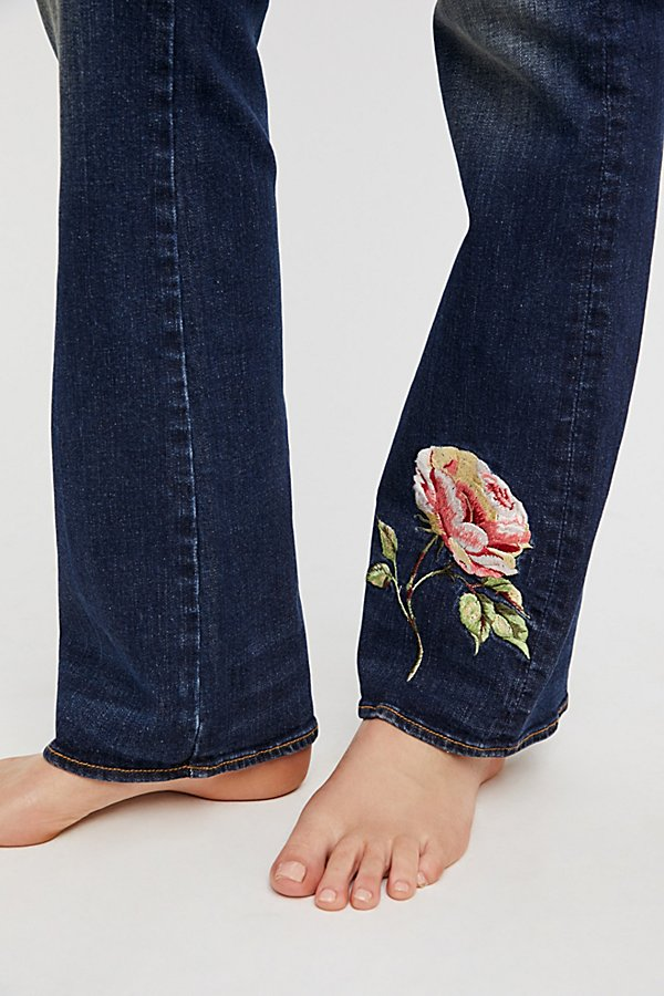 Slide View 5: Kelly Embroidered Baby Bootcut Jeans