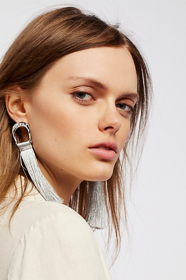 Slide View 1: Valerie Tassel Earrings