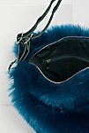 Thumbnail View 5: Faux Fur Convertible Backpack