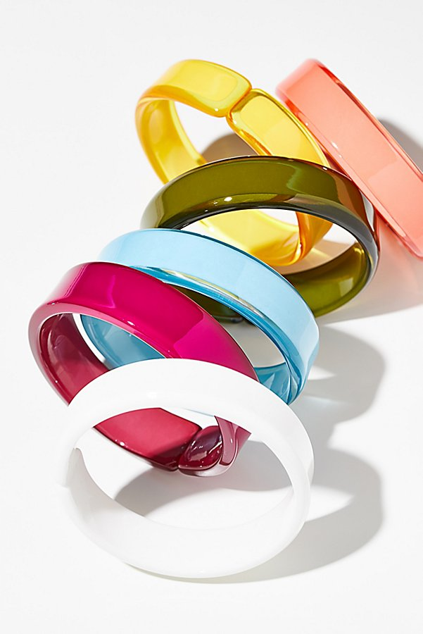 Slide View 1: Lucite Color Bangle
