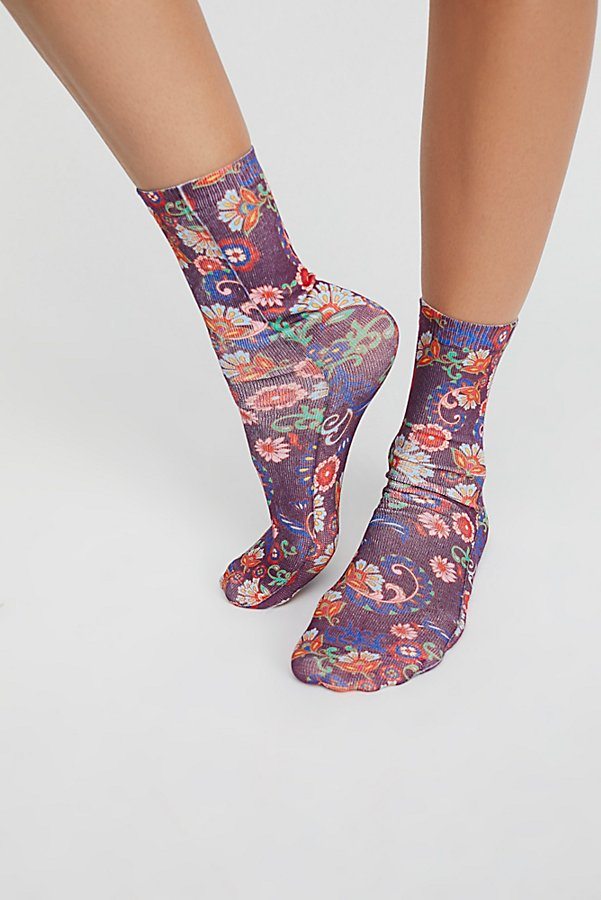 Slide View 2: Stole The Show Printed Sock