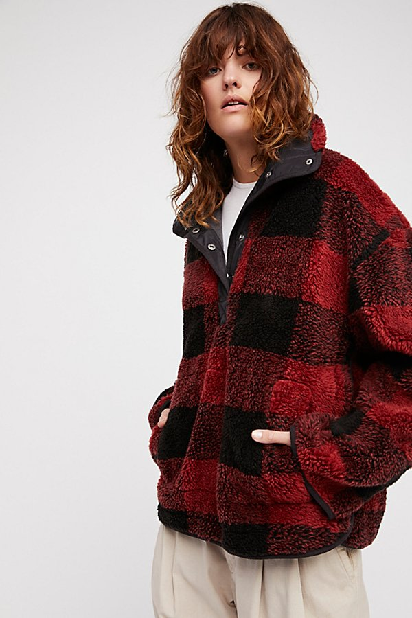 Slide View 1: Oh So Cozy Plaid Pullover