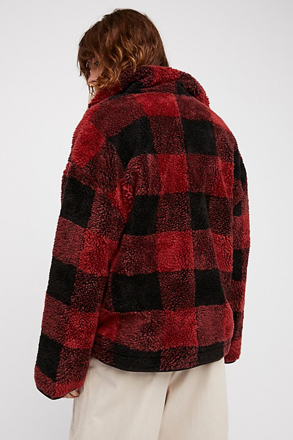 Slide View 2: Oh So Cozy Plaid Pullover