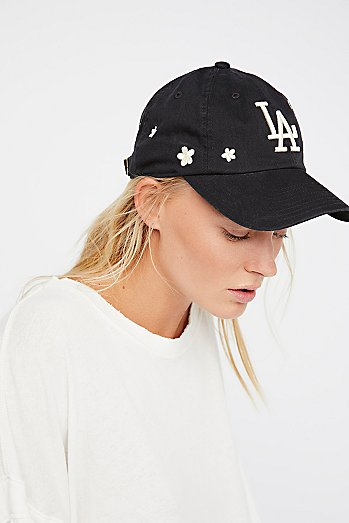Daisies In The Outfield Baseball Hat