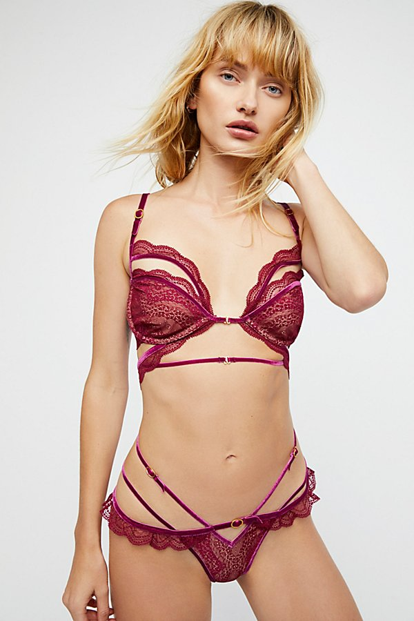 Slide View 3: Evie Lace Underwire Bra