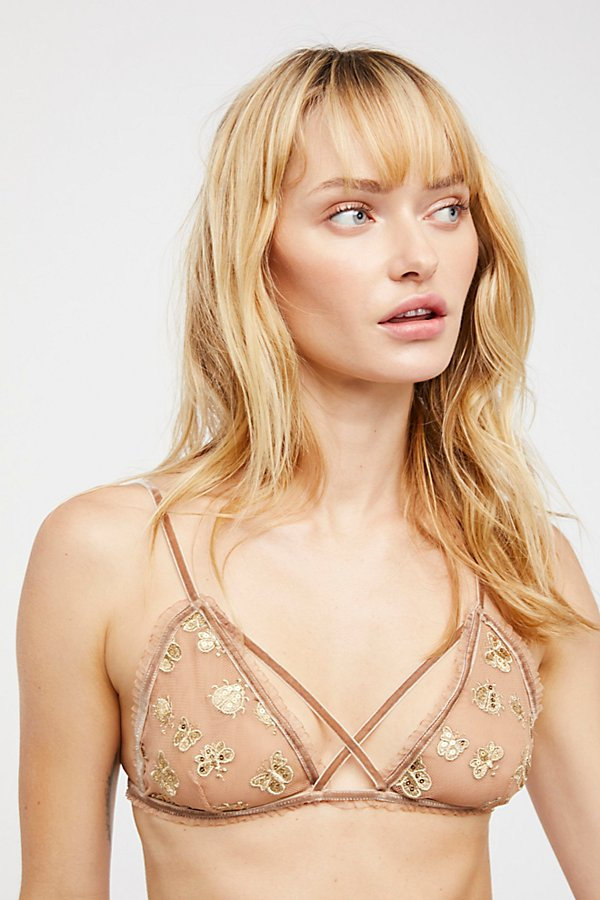 Slide View 1: Golden Garden Bralette