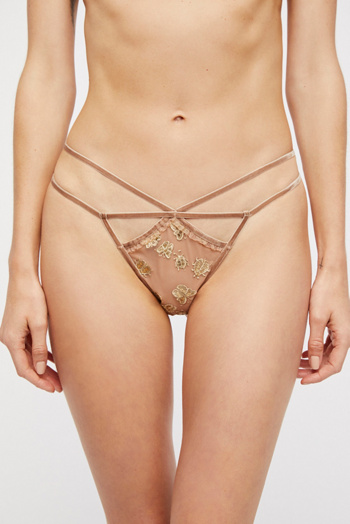 Slide View 2: Golden Garden Thong