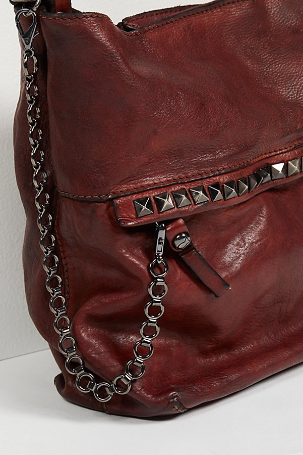 Slide View 3: Ravenna Leather Hobo