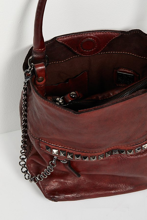 Slide View 5: Ravenna Leather Hobo