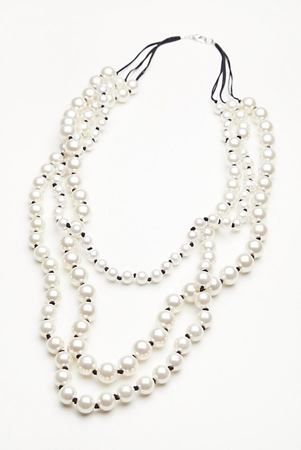 Slide View 2: Selene Statement Pearl Necklace