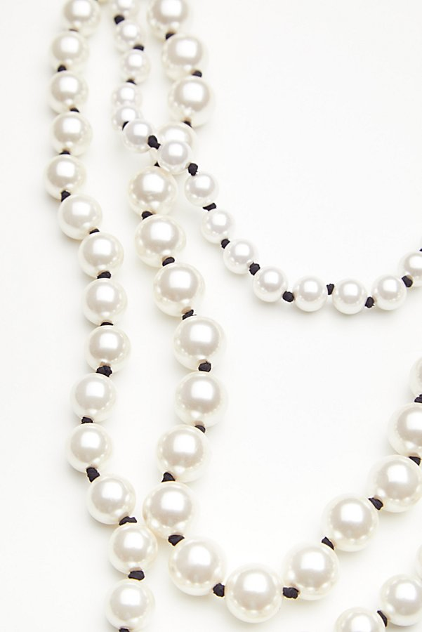Slide View 4: Selene Statement Pearl Necklace