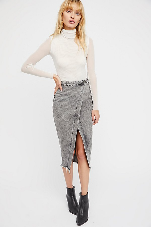 Slide View 1: Society Wrap Skirt