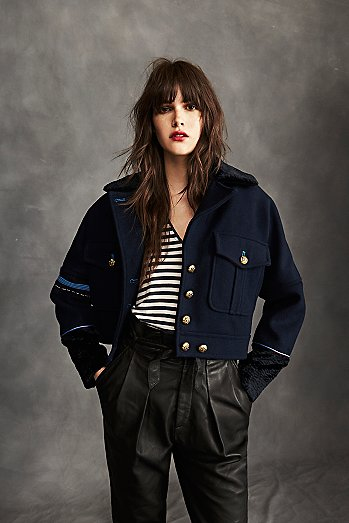 Cropped Eisenhower Jacket