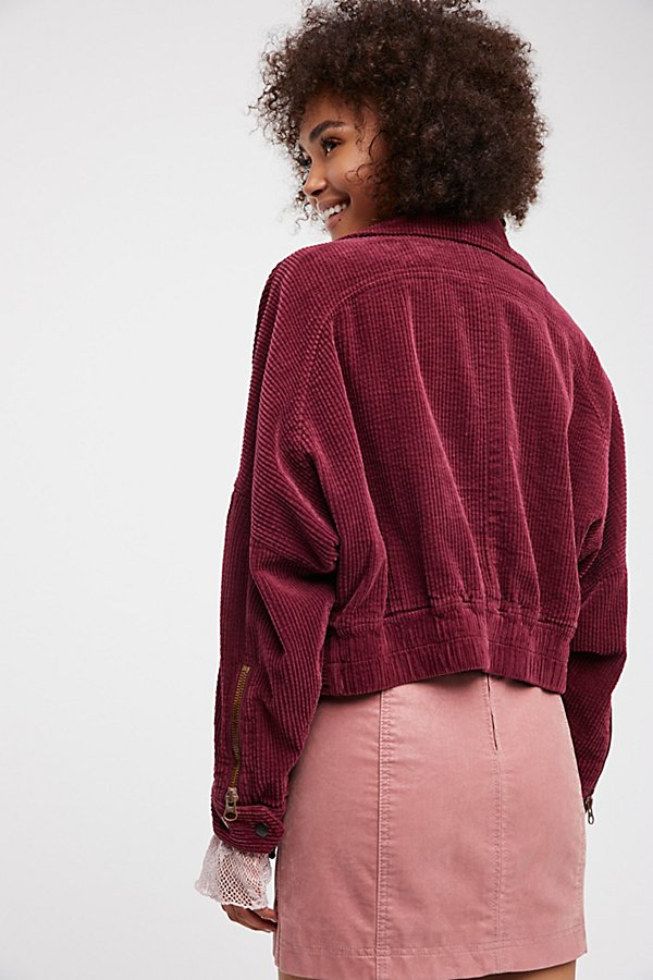 Slide View 3: Slouchy Dolman Moto Jacket