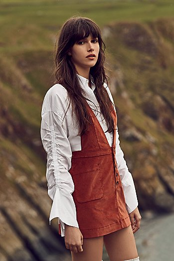Old School Love Pinafore Dress