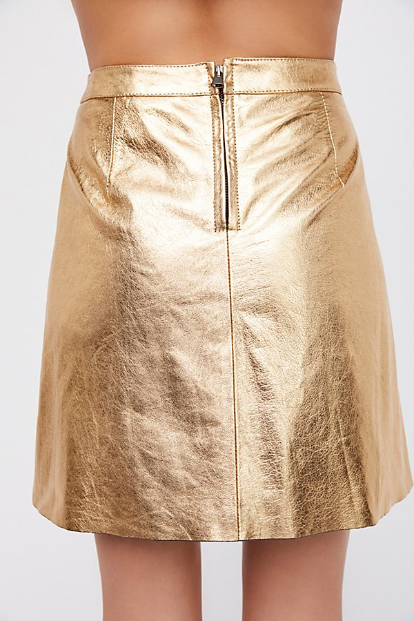 Slide View 3: Pelle Skirt