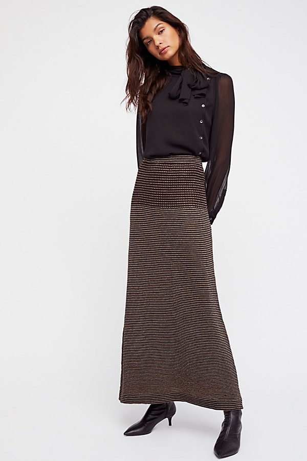 Slide View 2: Knit Maxi Skirt