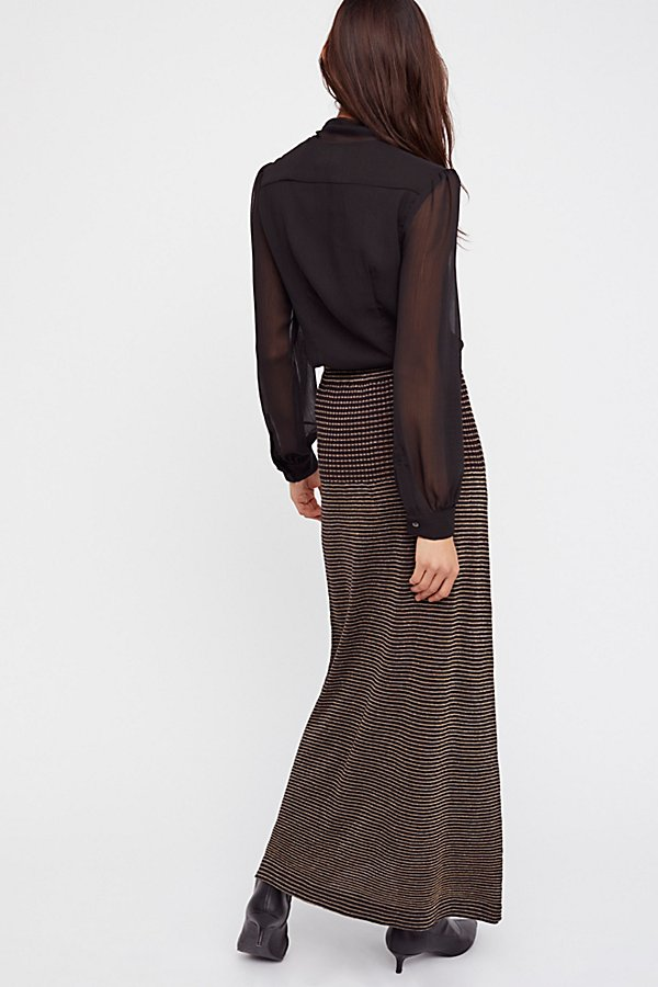 Slide View 3: Knit Maxi Skirt