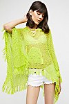 Thumbnail View 1: Summer Breeze Hooded Poncho
