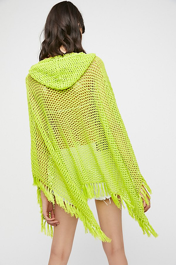 Slide View 3: Summer Breeze Hooded Poncho