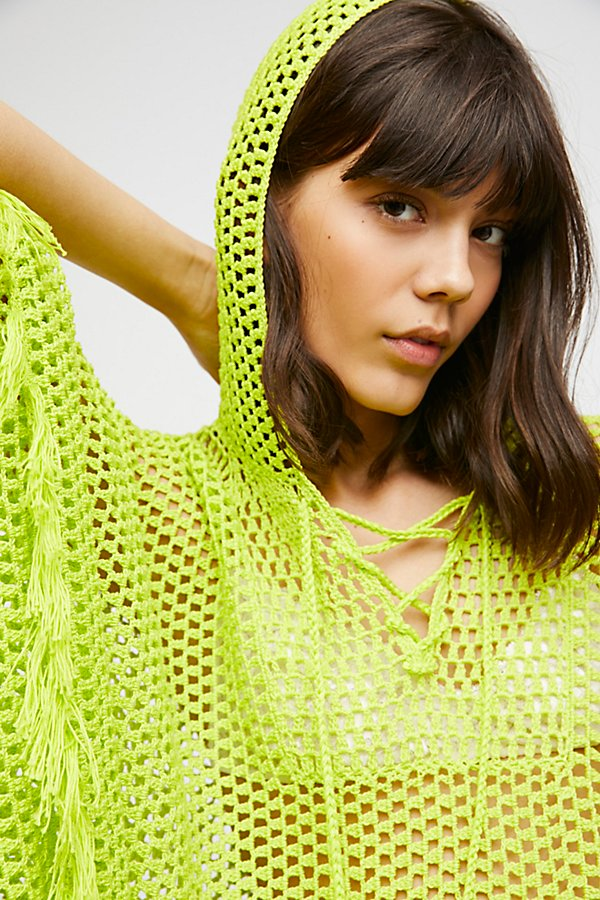 Slide View 4: Summer Breeze Hooded Poncho