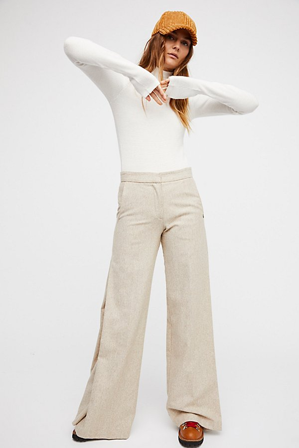 Slide View 3: Ghost Wide Leg Trousers