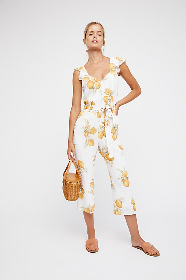 Slide View 1: Lemons Jumpsuit