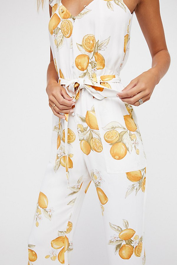 Slide View 3: Lemons Jumpsuit