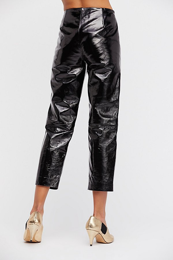 Slide View 3: Patent Leather Pants