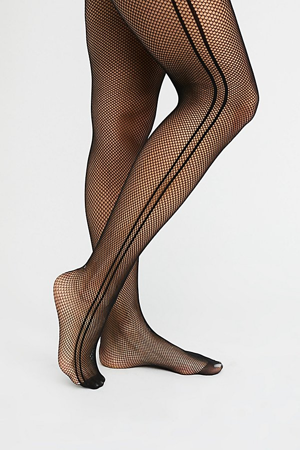 Slide View 2: Sport Fishnet Tights