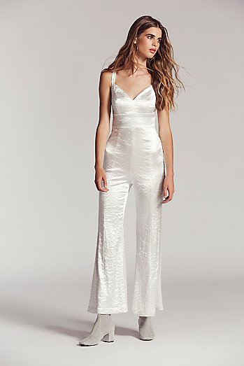 Silver Crush Jumpsuit