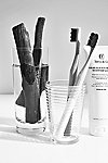 Thumbnail View 1: Brilliant Black Toothpaste & Toothbrush