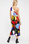 Thumbnail View 2: Patsy One-Shoulder Midi Dress