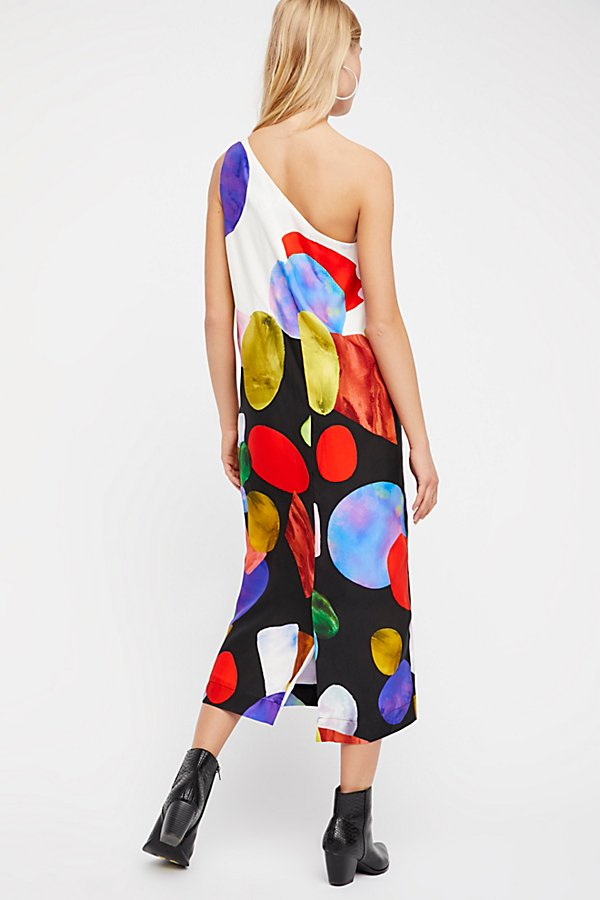 Slide View 2: Patsy One-Shoulder Midi Dress