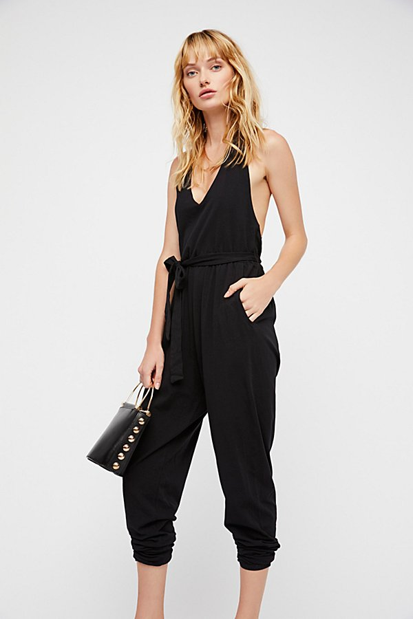 Slide View 1: Stir It Up Wrapped Jumpsuit