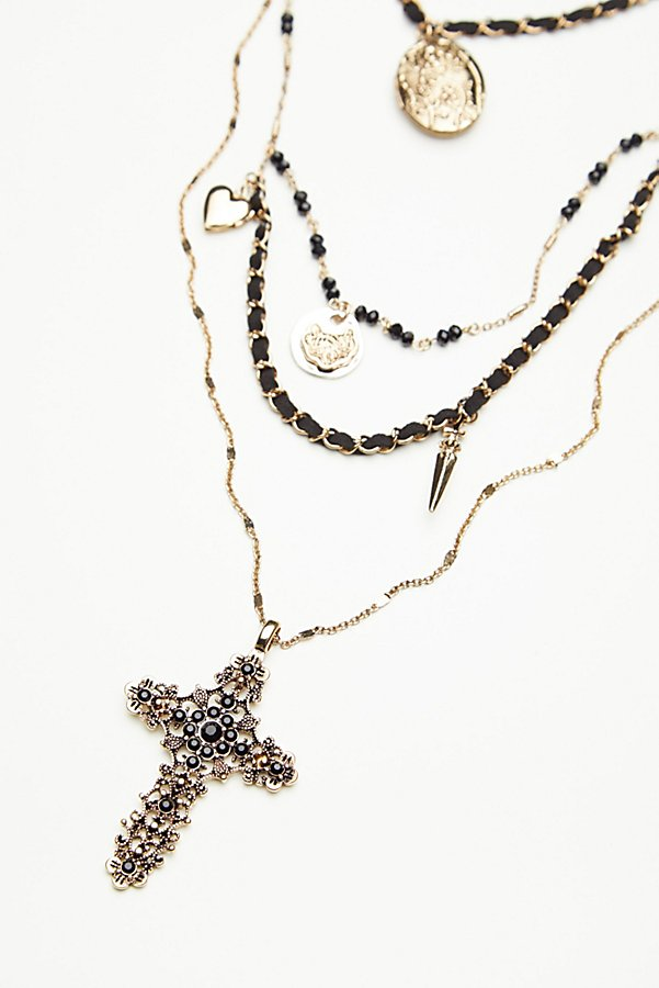 Slide View 6: Florence Leather Charm Rosary