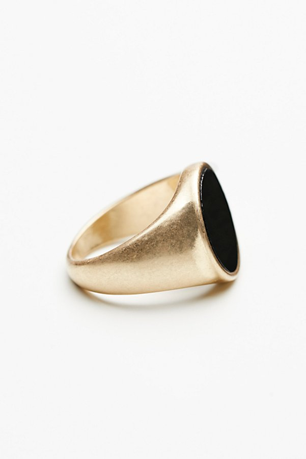 Slide View 3: Stone Signet Ring