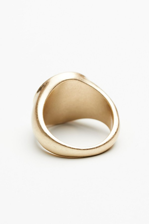 Slide View 4: Stone Signet Ring