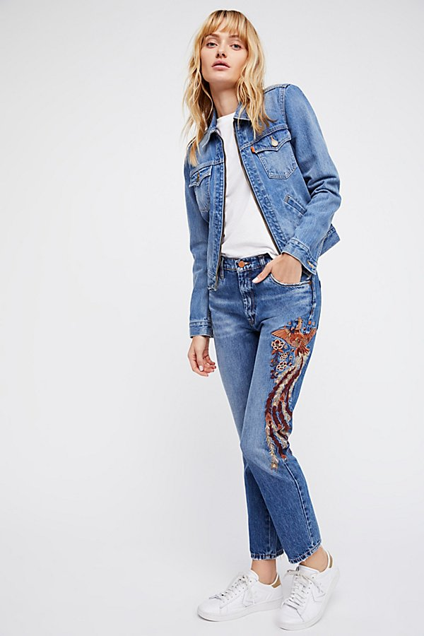 Slide View 5: Way Back When Embroidered Jean