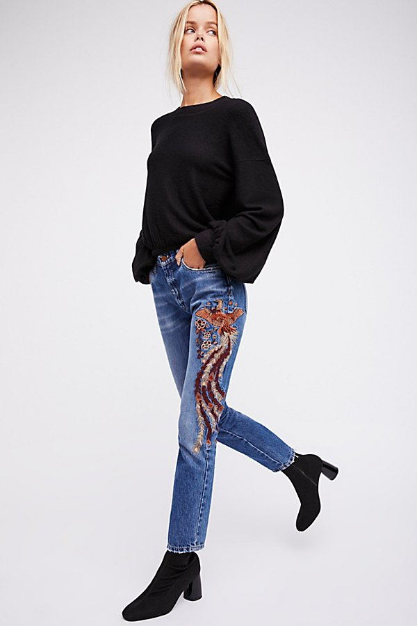 Slide View 2: Way Back When Embroidered Jean