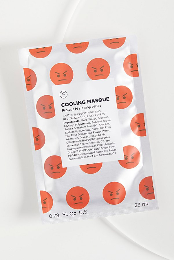 Slide View 1: Cooling Emoji Masque