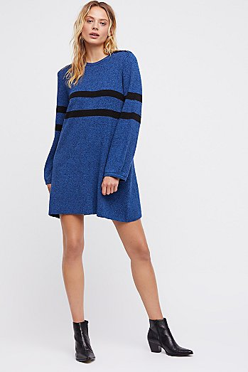 On Your Team Jumper Mini Dress